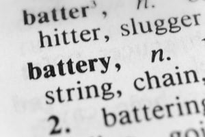 Definition of battery in Albuquerque