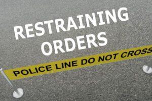 Restraining Orders concept